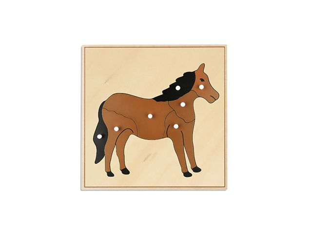 AT PAZIL - HORSE PUZZLE (PLYWOOD MATTERIAL)